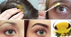 With This Oil Your Hair, Eyelashes And Eyebrows Grows Rapidly! (With This Oil Your Hair, Eyelashes And Eyebrows Grows Rapidly!) It is quite normal for many Beauty Secrets, Beauty Hacks, Castor Oil Benefits, How To Grow Eyebrows, Thin Eyebrows, Eyelash Growth, Fast Hairstyles, Tips Belleza, Shiny Hair