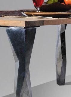 Tavolo Alluminio Teak
