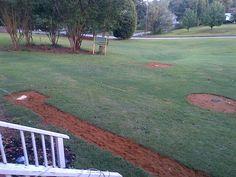 Play baseball in the yard Giants Baseball, Baseball Pants, Baseball Field, Baseball Injuries, Garden Landscaping, Landscaping Ideas, Backyard Ideas, Garden Ideas, Backyard Baseball