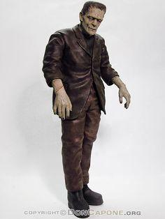 Boris Karloff Frankenstein Model Kit Vinyl Billiken Frankenstein