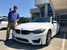 """#regram from @bmwofasheville - """"BMW of Asheville congratulates Mr. Brad F. on the purchase of his iconic new 2018 #BMW #M3 from our dealership with our Team Member Brendan Smith. Thanks for choosing Fields BMW Brad! #FieldsMattersBecauseYouMatter"""" #BMW #Lakeland #FieldsBMW"""