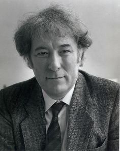 Seamus Heaney...great poet