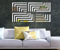 Zrkadlo na stenu Ilúzia Throw Pillows, Bed, Home, Cushions, Stream Bed, Ad Home, Homes, Beds, House