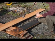 FTF #41 Burnt Wood Siding Technique - YouTube