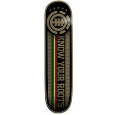 Element Skateboards | Element Thriftwood Know Your Roots Skateboard Deck | Skateboards ...