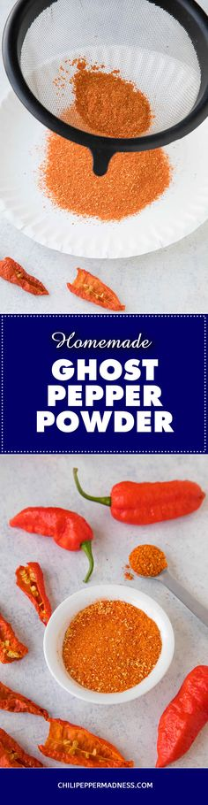 how to make ghost pepper paste