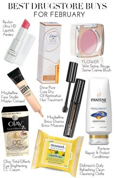 See what our editors are loving this month in Best Drugstore...