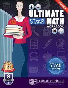 Texas STAAR Ready Ultimate STAAR Math Workbook: Grade 8 (Spanish)