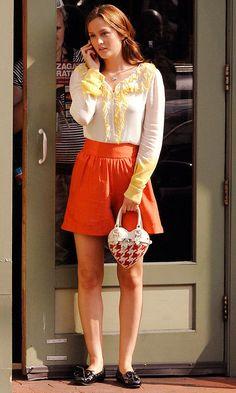 Leighton Meester As Blair Waldorf Back In The Hamptons, 2008