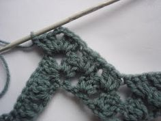 How to crochet granny ripples