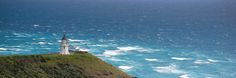 At the top of the North Island of New Zealand the Tasman Sea and the Pacific Ocean meet at Cape Reinga