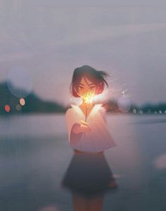 Illustrations Capture Under-Appreciated Moments of Solitude Digital Art by Jenny Yu.Digital Art by Jenny Yu. Art Anime Fille, Anime Art Girl, Anime Girls, Manga Girl, Pretty Art, Cute Art, Meer Illustration, Photo Illustration, Girl Illustrations