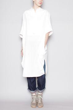 Featuring Oversized Bib Dress
