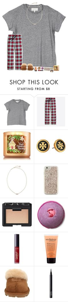 merry Christmas yall! Im going to open presents in about 2 hours (its 4 am right now ) by hopemarlee ❤ liked on Polyvore featuring The Great, J.Crew, Tory Burch, Kendra Scott, Kate Spade, NARS Cosmetics, tarte, philosophy, UGG Australia and hmsloves