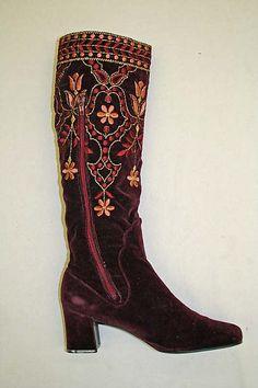 Boots Designer: Charles Jourdan (French, 1883–1976) Date: 1967