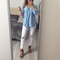 ️Tenue total outfitbook Le jean est de retour mes belles, toutes les tailles sont disponibles