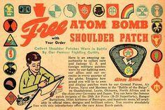 atom bomb patch