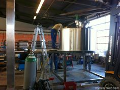 Pizza Boy Brewing Expansion & New Brewing System
