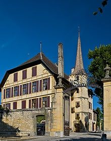 PINTEREST.COM.\CASTLES OF SWITZERLAND | Castles & Fortresses in Switzerland / Auvernier Castle is a castle in ...