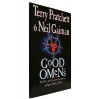 Terry Pratchett & Neil Gaiman - Good Omens - Gollancz 1990 UK Proof Edition