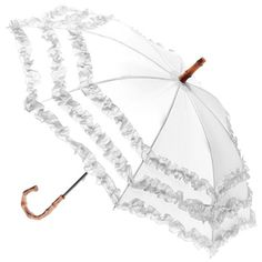Fifi Bambina umbrella, perfect for bridesmaids available in 3 pastel colours - £14.75 from www.hellobrolly.co.uk