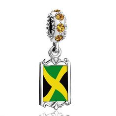 Pugster November Birthstone Yellow Topaz Swarovski Crystal Dangle Jamaica Flag Photo Frame Bead Fits Pandora Charms Bracelet Pugster. $16.49. Metal: Crystal. Size (mm): 9.42*2.6*27.54. Weight (gram): 3.8. Color: Topaz