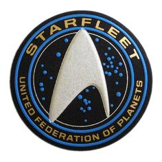 STAR TREK Starfleet Insignia Patch