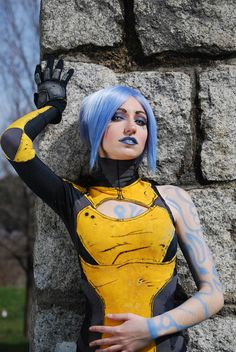 Maya the Siren from Borderlands 2.  I am torn between cosplaying her, Gaige, and Tiny Tina...