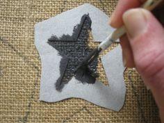 diy resin crafts how to make ; diy resin crafts for beginners ; Key Crafts, Jute Crafts, Diy Resin Crafts, Fabric Crafts, Diy And Crafts, Burlap Art, Framed Burlap, Burlap Fabric, Weekend Crafts