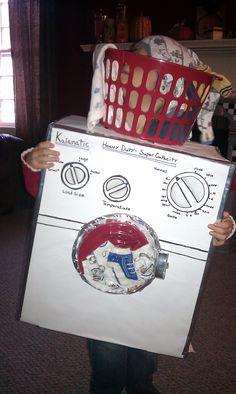 washing machine costumes