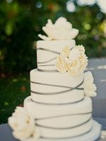 Wedding, Cake, Yellow, Modern, Grey, Contemporary, Emily john