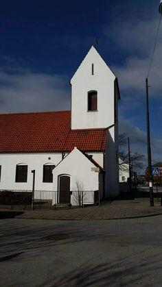 Kirseberg kyrka, Malmö Sweden, Times, Mansions, House Styles, Home Decor, Decoration Home, Room Decor, Villas, Interior Design