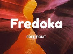 Fredoka is free rounded bold font that will turn your design with stylish look. It is ready for any purpose from website header displays to timeless bold logos. Fredoka One is also supported by Go… Open Fonts, Bold Fonts, Sans Serif Fonts, Best Free Fonts, Great Fonts, Fonte Free, Typography Logo, Lettering, Round Font