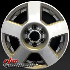 "Nissan Frontier wheels for sale 2005-2008. 16"" Silver rims 62452 - http://www.rtwwheels.com/store/shop/16-nissan-frontier-wheels-oem-silver-62452-2/"