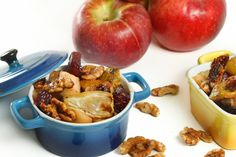 Apple Beet Compote with Fennel and Candied Walnuts | A Culinary Journey With Chef Dennis