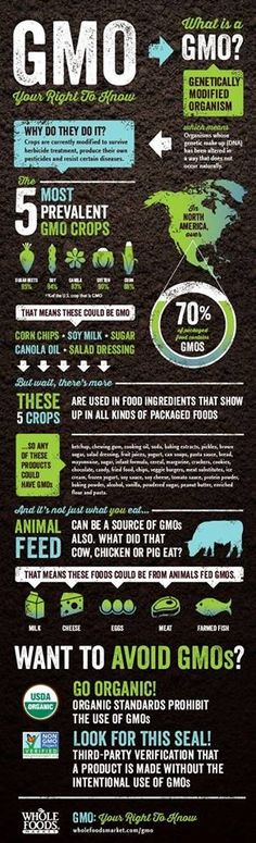 What is a GMO?  Your right to know via Whole Foods