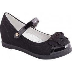 Туфли для девочки черные Dummi