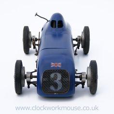 Vintage Model Tether Car Racer