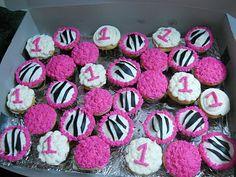 The Happy Caker: First Birthday Zebra Stripes