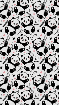 Pandas wallpaper 🐼🐼 Bookcases or small pop of color. Panda Wallpaper Iphone, Cute Panda Wallpaper, Unicornios Wallpaper, Drawing Wallpaper, Cute Disney Wallpaper, Kawaii Wallpaper, Cute Wallpaper Backgrounds, Pretty Wallpapers, Animal Wallpaper