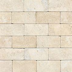 Travertine Baja Cream 3 x 6 Tumbled Natural Stone Tile