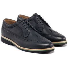 Wingtip Shoe Men's Black, $155, now featured on Fab.