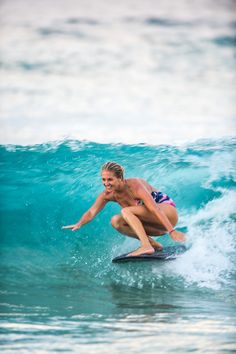 The best surfer out there is the one having the most fun #POPsurf Stephanie Gilmore