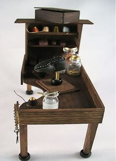 shoemaker's workbench, by Deb Jackson Designs
