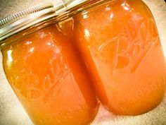 Peach Rosemary Lemonade Concentrate - since the others were so tasty....