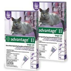 Advantage II 12pk Cat Over 9 lbs -- Check out this great product. (This is an Amazon affiliate link)