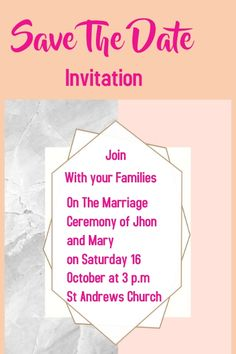 Customize this design with your video, photos and text. Easy to use online tools with thousands of stock photos, clipart and effects. Free downloads, great for printing and sharing online. Poster. Tags: marriage invitation card, Wedding , Wedding