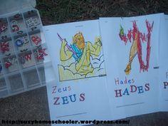 Greek Mythology Theme Week