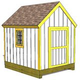 1000 images about 8x10 shed plans on pinterest shed for Cape cod shed plans