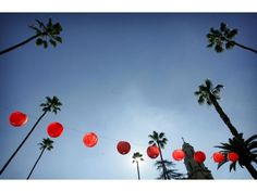Chinese lanterns hang over Mission Inn Ave. during the Lunar Festival on Jan. Lunar Festival, Mission Inn, Riverside County, Chinese Lanterns, Christmas Ornaments, Holiday Decor, Drawings, Christmas Jewelry, Drawing